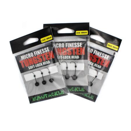 Eurotackle Soft-Lock Tungsten Jighead