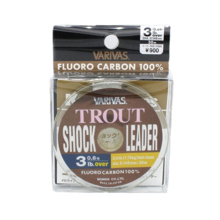 Varivas Trout Shock Leader Fluorocarbon Line 3lb