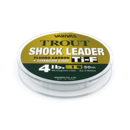 Varivas Trout Shock Leader Ti-F Fluorocarbon Line