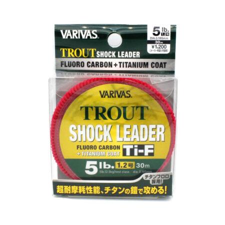 Varivas Trout Shock Leader Ti-F Fluorocarbon Line 5lb