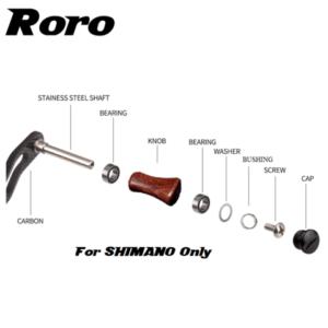 Roro Handle Knob Shimano Install