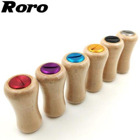 Roro Handle Knob Soft Wood Grip