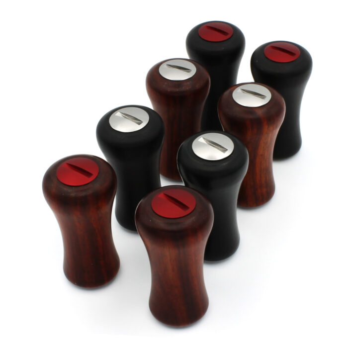 Roro Natural Hardwood Reel Handle Knobs